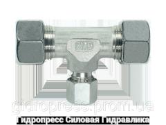 Тройник, Резьбовые соединения TRV - стандартное исполнение, Нержавеющая сталь Rubrik 8.25