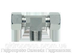Тройник резьба метрическая - конусная - стандарт, Нержавеющая сталь Rubrik 8.112