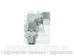 Угловое регулируемое резьбовое соединение - стандарт, Нержавеющая сталь Rubrik 8.196