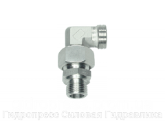 Угловое регулируемое резьбовое соединение - OMD, Нержавеющая сталь Rubrik 8.195