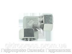 Угловые резьбовые соединения с несъемной гайкой, Нержавеющая сталь Rubrik 8.190