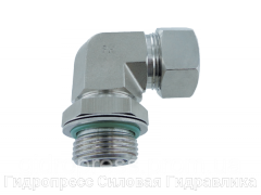 Регулируемое угловое соединение - Standard, Нержавеющая сталь Rubrik 8.187