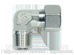 Угловое трубное соединение NPT, Нержавеющая сталь Rubrik 8.101