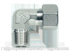 Угловое трубное соединение резьба метрическая - конусная, Нержавеющая сталь Rubrik 8.94