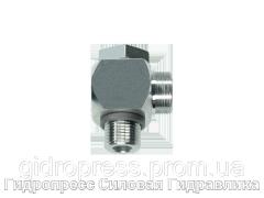 Угловые трубные соединение с кольцом уплотнения - OMD, Нержавеющая сталь Rubrik 8.171