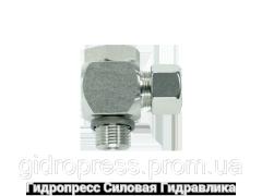 Угловые трубные соединение с кольцом уплотнения - стандарт, Нержавеющая сталь Rubrik 8.164