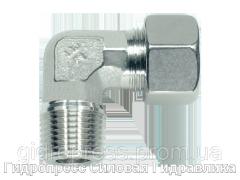 Угловое трубное соединение резьба конусная, Нержавеющая сталь Rubrik 8.89