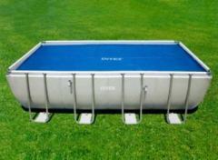 Тент Intex 29026 антиохлаждение для прямоугольных бассейнов 549*274 см