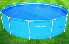 Тент Intex 29021 антиохлаждение для бассейнов, диаметром 305 см, в сумке, 37*37*18 см