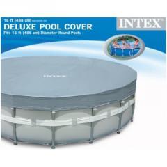 Тент для каркасного круглого бассейна 488 см Intex 28040