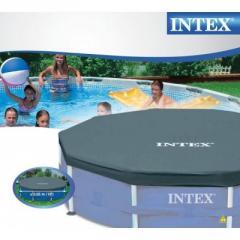 Чехол Intex 58406/28030 для каркасного, круглого бассейна, диаметр 305 см