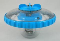 Светильник-поплавок Intex 28690 на батарейках, 4 цвета, 3 режима работы, автоотключение