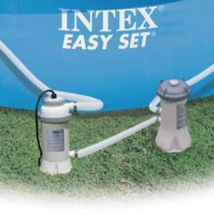 Нагреватель Intex 56684 220V с выключателем дифференциального тока