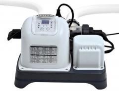 Система соленой воды Intex хлорогенератор 28668, хлорирует и ионизирует воду, сеть 220-240В, с автотаймером, выход хлора 5 грамм/час