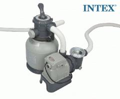 Песочный фильтр-насос Intex 28648, 230V, 10599 л/ч, насос, 8139 л/ч, фильтр