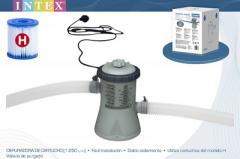 Фильтр-насос Intex 28602, 230V, 1250 л/ч, для наливных, от 244 до 305 см, и каркасных, 305 см