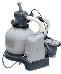 Система соленой воды и фильтр-насос грубой очистки Intex 28680/28682 220-240V, выход хлора 12 грамм/час