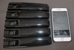 G-Class W463 Карбоновые накладки дверных ручек, комплект 5 шт