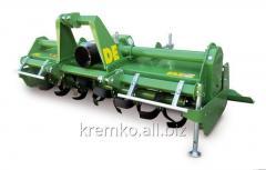 DE SERRA: горизонтально-фрезерный культиватор с жёсткой  рамой [почвофреза |модель для теплиц]