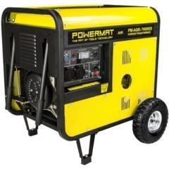 Генератор дизельный PowerMat PM-AGR-7000KED 7 кВт