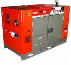 Генератор Kraftwele 46 кВт, трехфазный, электростарт, ATS, дизельный