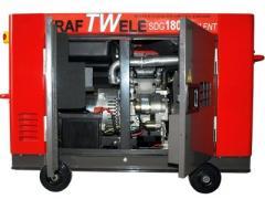 Генератор Kraftwele 14,4 кВт, трехфазный, электростарт, дизельный, обесшумленый