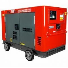 Генератор Kraftwele 22 кВт, дизельный