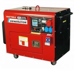 Генератор Kraftwele 9.8 кВт Germany, дизельный с АТС трехфазный