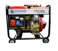 Генератор Straus Austria 3kW, 3 фазы, дизельный, 4-хтактный тихий, ручной старт, генераторы