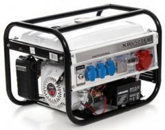Бензогенератор KraftWele 3,5 кВт 3-х фазный электростартер