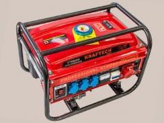 Генератор Kraftech Germany 4,5 кВт трехфазный бензиновый, ручной старт