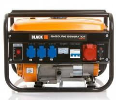 Генератор Black Gasoline Generator 3-х фазний, 3,5 кВт, бензиновый, 4-х тактный