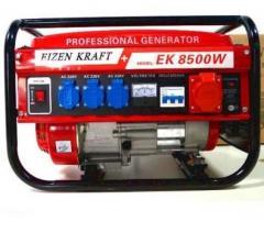 Генератор Eizen Kraft 4,8 кВт, 3-х фазный, бензиновый