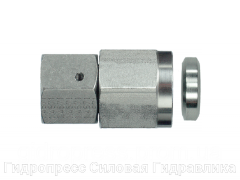 Резьбовое соединение для манометра, Нержавеющая сталь Rubrik 9.46