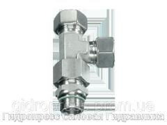 Резьбовые соединения тройниковые EL - Витворт - цилиндрическая резьба - стандартное исполнение, Нержавеющая ст Rubrik 9.35
