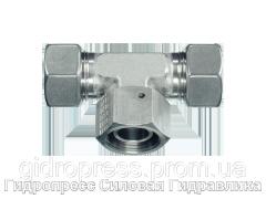 Резьбовые соединения тройниковые ET - стандартное исполнение, Нержавеющая сталь Rubrik 9.19