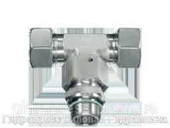 Резьбовые соединения тройниковые ET с накидной гайкой типа SC, Нержавеющая сталь Rubrik 9.23
