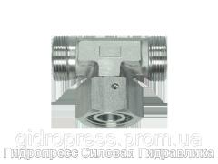 Резьбовые соединения тройниковые ET - без накидной гайки и врезного кольца, Нержавеющая сталь Rubrik 9.21