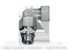Резьбовые соединения угловые EW с накидной гайкой типа стандарт, Нержавеющая сталь Rubrik 9.10