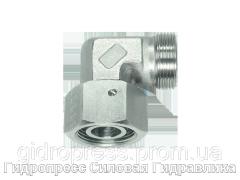 Резьбовые соединения угловые EW - без накидной гайки и врезного кольца, Нержавеющая сталь Rubrik 9.6
