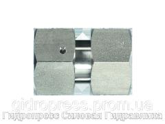 Прямые резьбовые соединения GV - DKO - DKO, Нержавеющая сталь Rubrik 9.1