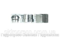 Соединительные детали в комплекте, с отбортовкой, Нержавеющая сталь Rubrik 7.6
