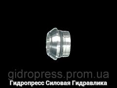 Прокладочные кольца с кольцом круглого сечения, с отбортовкой, Нержавеющая сталь Rubrik 7.5
