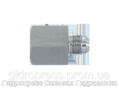 Резьбовые соединения с отбортовкой 37°, с отбортовкой, Нержавеющая сталь Rubrik 6.35