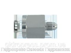 Манометрические резьбовые соединения отбортовкой 37°, с отбортовкой, Нержавеющая сталь Rubrik 6.34