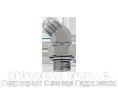 Резьбовые соединения EVW - 45°, с отбортовкой, Нержавеющая сталь Rubrik 6.33