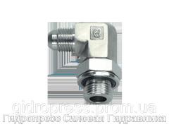 Резьбовые соединения EVW - 90°, с отбортовкой, Нержавеющая сталь Rubrik 6.31