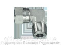 Угловое резьбовое соединение 90° адаптер, Нержавеющая сталь Rubrik 6.26