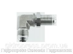 Угловые переборочные резьбовые соединения, с отбортовкой, Нержавеющая сталь Rubrik 6.23