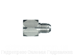 Адаптер прямое соединение внешняя резьба, с отбортовкой, Нержавеющая сталь Rubrik 6.17